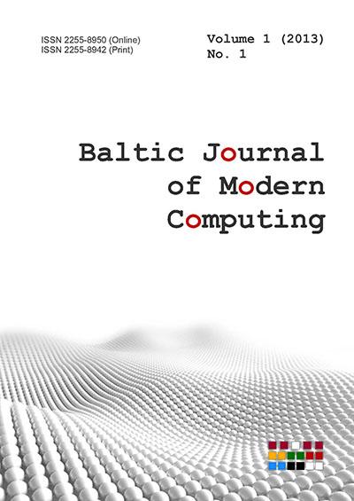 Baltic Journal of Modern Computing - University of Latvia